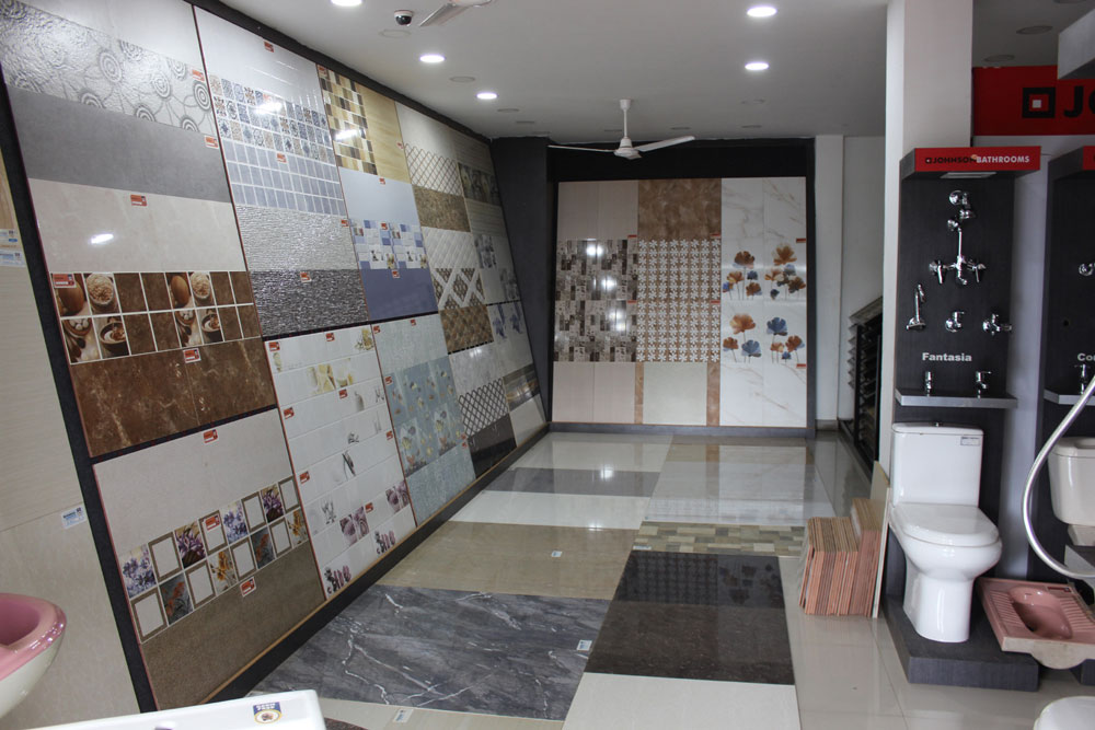 karuppiah tiles showroom aranthangi - Interior Design Tiles Showroom
